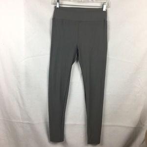LuLaRoe Dark Gray Solid Leggings OS